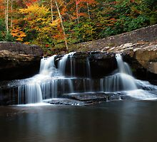 Glade Creek | Babcock State Park by Victoria Buck