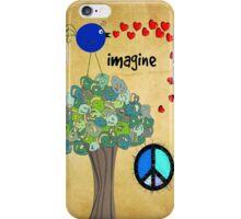 Imagine Whimsical Tree and Bird iPhone Case/Skin