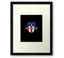 Actually Cpt. Puerto Rico Framed Print