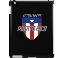 Actually Cpt. Puerto Rico iPad Case/Skin