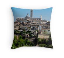 walled Siena Throw Pillow