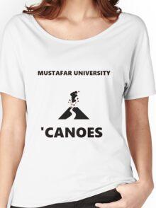 Mustafar University Women's Relaxed Fit T-Shirt