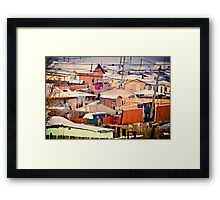 Nailak wondering 1 Framed Print