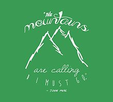 The Mountains are Calling I by fc13empire