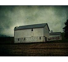 As I drove by the barn Photographic Print