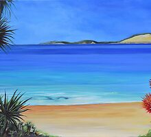 Rainbow Beach coastline by John Taylor