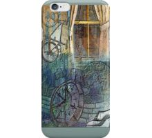 Face In The Window Montage iPhone Case/Skin