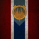Battlestar Galactica Caprica Flag by Stucko23
