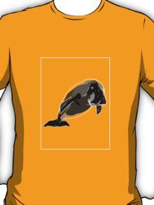 Dugong Black Grey A T-Shirt
