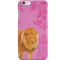 Wallpaper Lion Pink iPhone Case/Skin