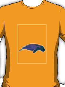 Dugong Mauve Green D T-Shirt