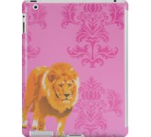 Wallpaper Lion Pink iPad Case/Skin