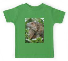 Iguana-Suit of Armour Kids Tee