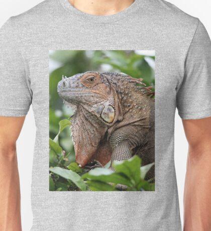 Iguana-Suit of Armour Unisex T-Shirt