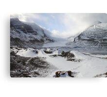 Athabasca Glacier, Jasper, Canada Canvas Print