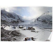 Athabasca Glacier, Jasper, Canada Poster