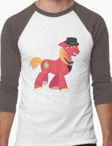 Big Macintosh is Hawt Men's Baseball ¾ T-Shirt