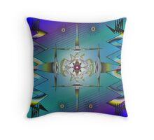 Tribal Inspiration Throw Pillow