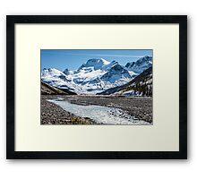 Mount Athabasca Framed Print