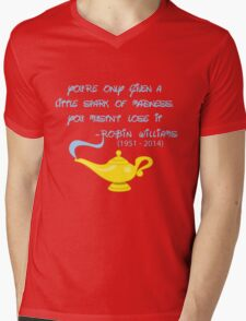 Robin Williams quote Mens V-Neck T-Shirt