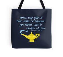Robin Williams quote Tote Bag