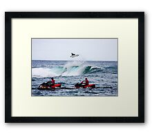 Gabriel Medina- 'The Air Up There' Framed Print