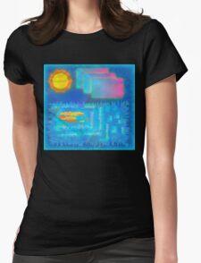Vaporwave-Ocean Blues T-Shirt