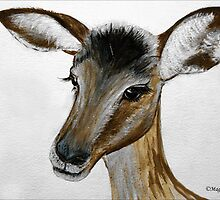 MY IMPALA BABY IN PORTRAIT - My Baba Impala by Magaret Meintjes