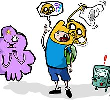 """ADVENTURE TIME """"Hide And Seek Time With Finn & Jake"""" by SorrySharky"""