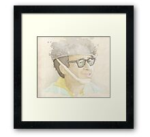 The Keymaster Framed Print
