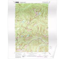 USGS Topo Map Washington State WA Labyrinth Mtn 241839 1965 24000 Poster