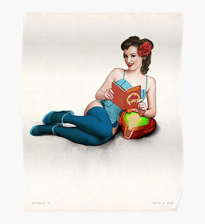 Metroid no. 1 Poster