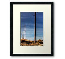 Telephone Road Framed Print