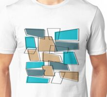 Mid Century Modern Atomic Abstract Unisex T-Shirt