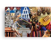 Grecian Appreciation Canvas Print