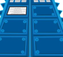 Iron Tardis mk2 Sticker