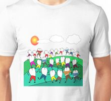 Whimsical Dental Teeth Art Unisex T-Shirt