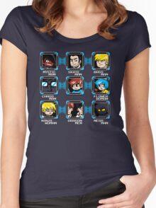 MEGA PILGRIM Women's Fitted Scoop T-Shirt