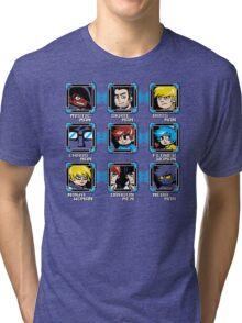 MEGA PILGRIM Tri-blend T-Shirt