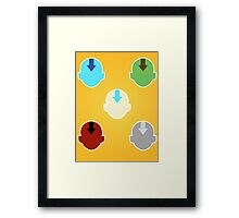The Elements and their Bender Framed Print