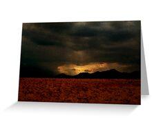 Rain Of Light - Layered up! Greeting Card