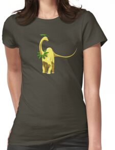Pokesaurs - Bayleef Womens Fitted T-Shirt