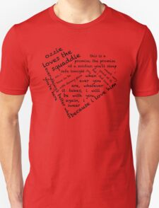 Quotes of the Heart - Oswink (Black) T-Shirt