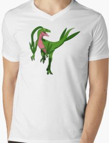 Pokesaurs - Grovyle Mens V-Neck T-Shirt