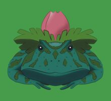 Pokesaurs - Ivysaur One Piece - Short Sleeve
