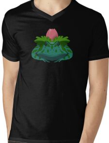 Pokesaurs - Ivysaur Mens V-Neck T-Shirt