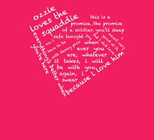Quotes of the Heart - Oswink (White) Womens Fitted T-Shirt