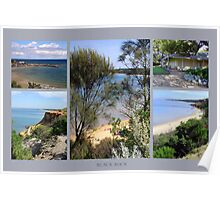 Black Rock Collage 1 - Victoria - Australia Poster