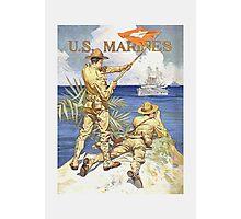 US Marines Poster - World War 1 Photographic Print