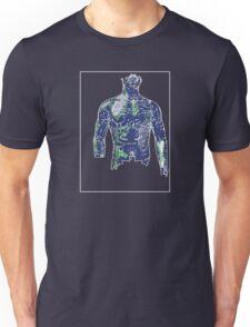 Man Green Blue B Unisex T-Shirt